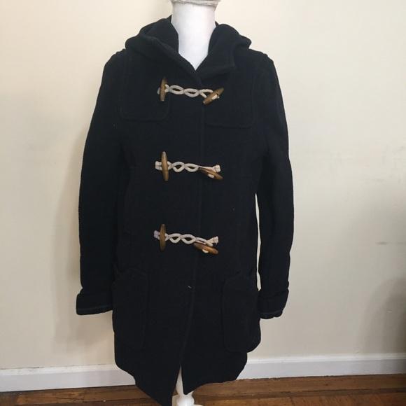 Topshop Jackets & Blazers - TopShop Coat Womens Size 8 Ribbed Blue Pockets